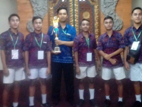 Perwakilan SMPN 3 Bangli Raih beberapa Juara pada Lomba FLS2N Provinsi Bali