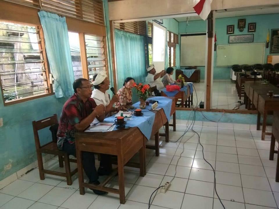 Rapat Full Day School dengan Komite dan Tokoh  Masyarakat