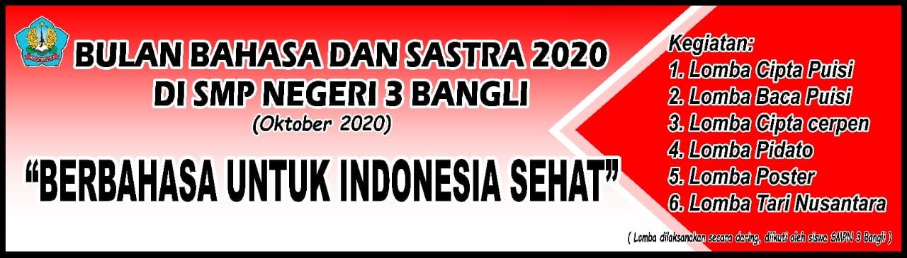Berbahasa untuk Indonesia Sehat